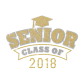 Bling Senior Class Iron-on Diamante Design