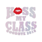 Stock Kiss My Class Holofoil Decal