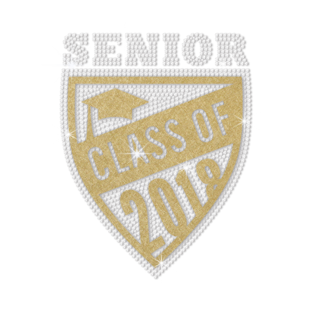 Online Senior Class of 2018 Nailhead Decal