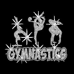 Different Kinds of Gymnastics Hot Fix Rhinestone Transfer