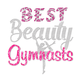 ISS Beauty Gymnasts Rhinestud Decal