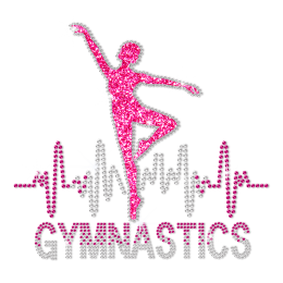 ISS Gymnasts Beat Rhinestud Transfer