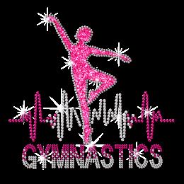 ISS Gymnasts Beat Rhinestud Transfer