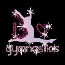 I Love Gymnastics Holofoil Stones