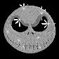 Custom Cool Shinning Crystal Mask Diamante Iron on Transfer Design for Shirts
