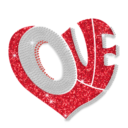 Magic Show Hearts Collection- Love Lettering Heart Pattern