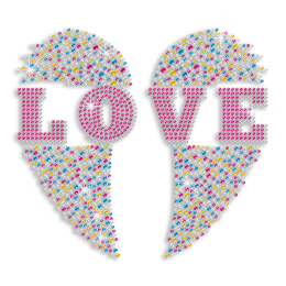 Magic Show Hearts Collection- Stochastic Color Heart Pattern