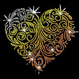 Magic Show Hearts Collection- Gradient Color Heart Design