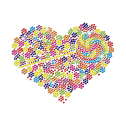 Sweet and Colorful Lollipop Heart Iron on Transfer Motif