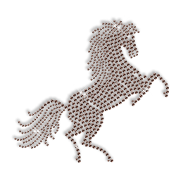 Rhinestone Horse Wholesale Iron on Transfer