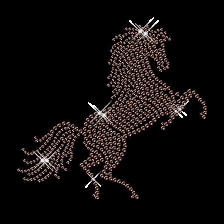 Rhinestone Horse Wholesale Iron on Transfer