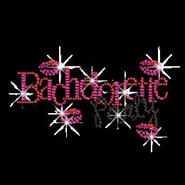 Wonderful Bachelorette Party Iron-on Rhinestone Transfer