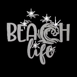 ISS Beach Life Nailhead Decal