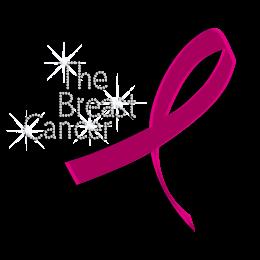 Holofoil The Breast Cancer Rhinestone Transfer