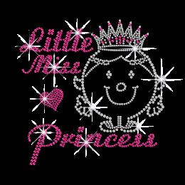 Lovely Little Princess Iron-on Rhinestone Transfer