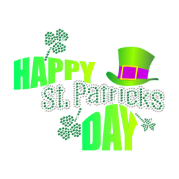 Customize Happy Saint Patricks Day Heat Transfer
