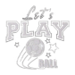 ISS Play Soccer Crystal Decal
