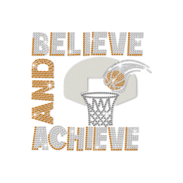 ISS Believe and Achieve Crystal Decal