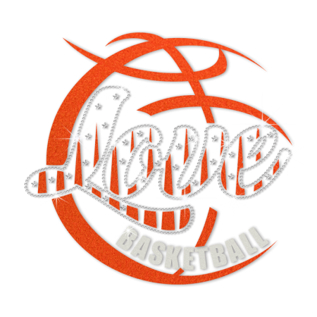 ISS Flock Love Basketball Crystal Design