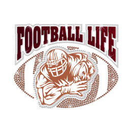 ISS Football Life Crystal Pattern