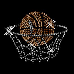 Diamante Hotfix Basketball Custom Design