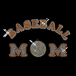 Crystal Baseball Mom Hotfix Transfer Pattern