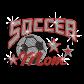 Magic Show Soccer Mom with Stars Rhinestud Iron on Rhinestone Transfer