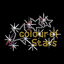 Colour of Stars Hot-fix Rhinestone Transfer