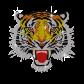 Classic Hotfix Tiger Rhinestone Motif for t shirt