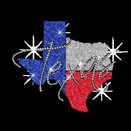 texas rhinestone transfer - CSTOWN