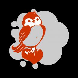Cute Owl Vinyl Transfer Logo