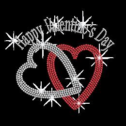 Bling Heart Shaped Rings for Valentine