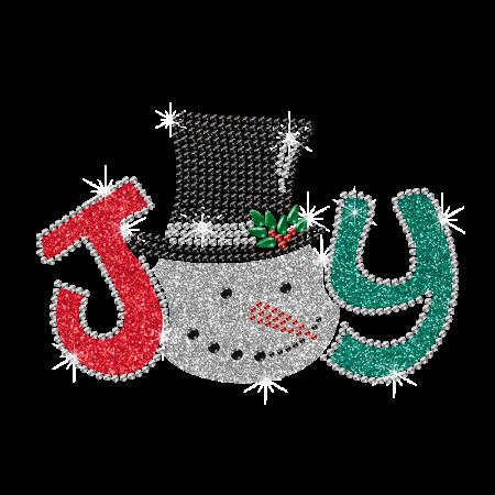 Joy Design Glitter Iron On Transfer For t shirt
