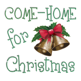 Happy Come Home Bells Iron-on Rhinestone Heat Transfer Combo