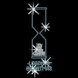 Wholesale Cute Loading Christmas Rhinestone Transfer