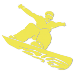 Glow In The Dark Skateboarding Sports Heat Transfer