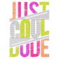 Just Cool Dude Glitter Heat Transfer