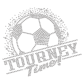 Tourney Time Metal Nailhead Soccer Heat Transfer Design
