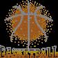 Basketball Theme Nailhead Bling Transfer