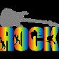 Rock My Life Guitar Printable Reflective Transfer