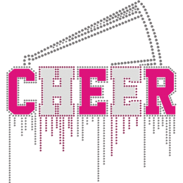 Holographic Foil Cheer Theme Heat Transfer