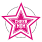 Cheer Mom My Super Star Pink Printable Transfer