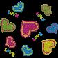 Little Hearts Show Loves Rhinestone Transfer