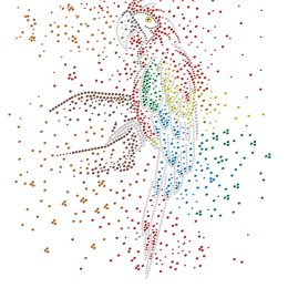 Scarlet Macaw Parrot Crystal Rhinestone Transfer