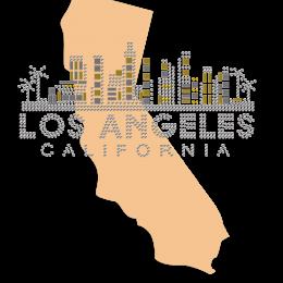 Los Angeles City Memory Flock Transfer