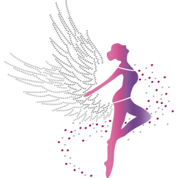 Dance Like An Angel Printable Glitter Transfer