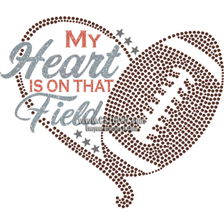 My Heart Is On That Field Football Theme Transfer