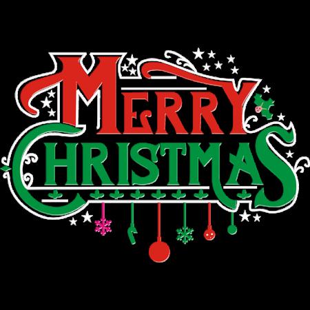 Merry Christmas Printable PU Heat Transfer
