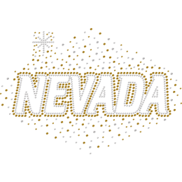 Shining Nevada Rhinestone Heat Transfers for Shirts