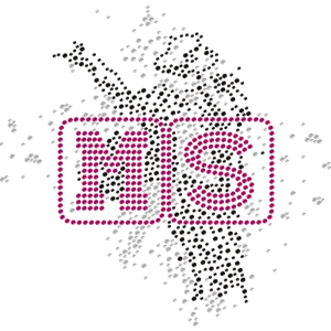 Dancing Mississippi Rhinestone Iron On Shirt Decals